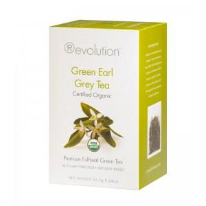 Green Earl Grey Organic 16c